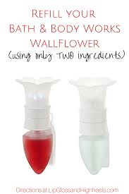 how do bath and body works wallflowers work how to refill you bath body works wallflower with just two