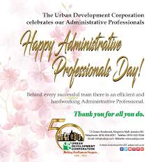 Administrative Professional Days Happy Administrative Professionals Day Urban Development Corporation