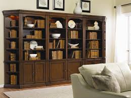 Image Traditional Modular Wall System Houzz Hooker Furniture Cherry Creek Traditional Bookcase Modular Wall