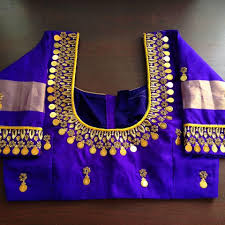 Saree Blouse Hand Work Designs Ready Made Hand Embroidery Aari Work Blouses Manufacturers
