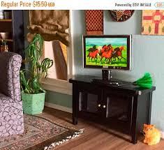aliexpresscom buy 112 diy miniature doll house. Dollhouse Miniature Furniture. Plain Sale Tv Stand Mini  Black Television Side Table Aliexpresscom Buy 112 Diy Doll House E