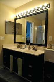 over mirror light bathroom amazing of above vanity lighting witching and ideas lights h29