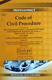 Buy Code Of Civil Procedure As Amended By The Commercial