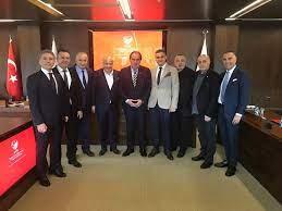 1.Lig Kulüpler Birliği'nden Demirören'e ziyaret - TFF Haberleri TFF
