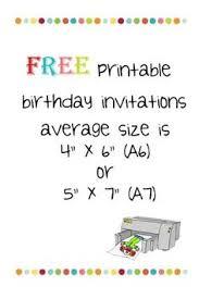 Birthday Invitations Printable 170 Best Free Printable Birthday Party Invitations Images Party