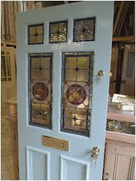stained glass door window beautiful victorian style 7 panel stained glass front door stained of stained