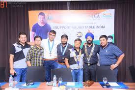 sharman joshi as the brand ambassador of global movement round table india