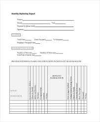 Monthly Marketing Report Sample Magdalene Project Org