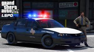 GTA 5 LSPDFR #507   Throw Back Thursday   2003 Texas DPS Trooper ...