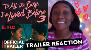 We won't share this comment without your permission. To All The Boys Always And Forever Trailer Reaction To All The Boys I Ve Loved Before 3 Trailer Youtube