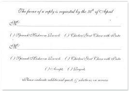 Rsvp Template Online Wedding Rsvp Menu Choice Template Design Flyers Templates