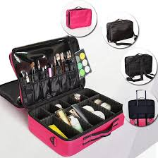 brand makeup bag artist professional beauty cosmetic cases with make up organizer semi permanent tattoo nail