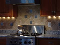 Decorative Kitchen Backsplash Kitchen Endearing Small Kitchen With Decorative Backsplash Tiles