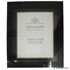 rectangle black frame. ORNAMENT Bingkai/Frame Foto 8R - Black Rectangle Frame