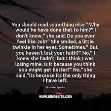 You should read something else.