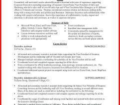Secretary Resume Sample Secretary Sample Cv Format Noxdefense Com