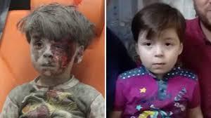 Resultado de imagen de niño de alepo Omran Daqneesh