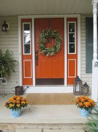 Orange front door Siding Love The Color Combo For The Door Shutters Pinterest Love The Color Combo For The Door Shutters For The Home