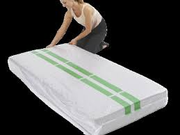 plastic mattress protector. Plastic Mattress Cover Storage Moving Protector King