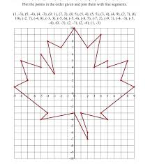 Coordinate Graphing Quadrant First Worksheet Quadrants 4 Graph Paper