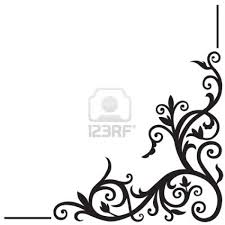 Corner Design Images Stock Vector Corner Designs Arabic Calligraphy Design