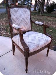 The $60 Thrifted Vintage Chair Makeover - Thrift Diving Blog
