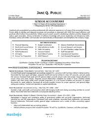 Sample Accountant Resume Simple Entry Level Staff Accountant Resume Examples Accounting Resume