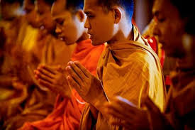 buddhist philosophy resilience equanimity and mindfulness  photo of buddhist praying