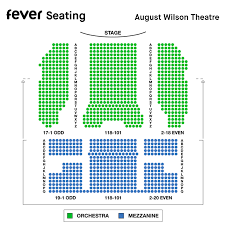 Wilson Theater Seating Chart Mean Girls On Broadway