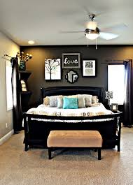 grey walls dark furniture. Master Bedroom With Dark Grey Accent Wall Light Walls Furniture And Fun Colors For