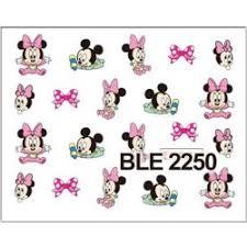Nálepky Na Nechty Mickey Minnie 4 Alternatívy Heurekask