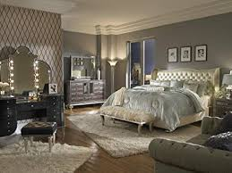 hollywood swank bedroom set. Brilliant Hollywood Aico Amini Hollywood Swank Queen Pearl Leather Bedroom Set By For 7