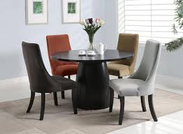 modern black round dining table. Modern Black Round Dining Table I