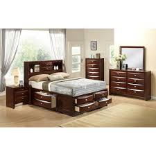 Global Bedroom Furniture Global Furniture Usa Linda Platform Customizable Bedroom Set
