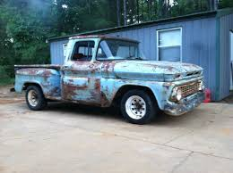 1962 Chevy C10, V8, Standard, Stepside, Lowered, Project