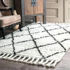 red gray rug white and gray area rugs hand knotted wool off white dark grey area