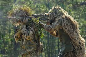 real ghillie suit does not have folliage in the front how to make a ghillie