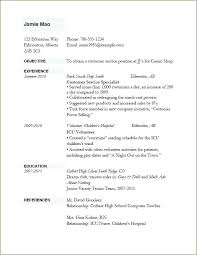 Example Of Resume Cv Resume Template Classic Classic Resume Star Pro ...