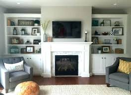 bookshelves around fireplace stone with on each side decorating sides of pretty interior bookshelf ideas shelves mantel shelf design modern eac