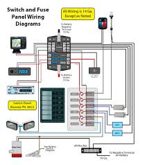 bus bar wiring diagram wiring for a switch panel and bus bar page 1 iboats boating click image for larger