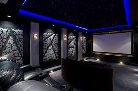Home Theater Room Design Simple Ideas