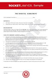 Prenuptial Agreement Uk Template Make Your Free Prenup
