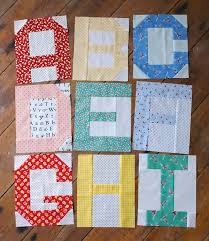 Best 25+ Alphabet quilt ideas on Pinterest | Baby quilt patterns ... & Spell It With Fabric blog hop by @ModaFabrics #spellitwithmoda / Alphabet  blocks by Messyjesse. Quilting TutorialsQuilting IdeasQuilting ... Adamdwight.com