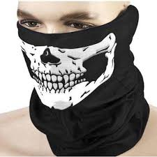 Cool Mask Designs Us 0 69 30 Off Hot Sale Men Women Cool Skull Design Adults Multi Function Ski Sport Motorcycle Biker Scarf Half Face Mask Sport Headband In Party