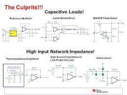 solving op amp ility issues 2 the culprits