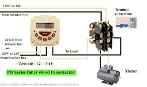 contactor wiring diagram timer contactor how to wire timers on contactor wiring diagram timer
