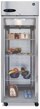 hoaki commercial refrigerator full glass door cr1s fge
