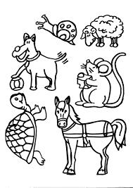 Disegni Animali In Fattoria Da Colorarela Fattoria Di Animali
