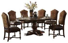 burdy 60 round dining table with pedestal base