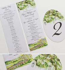 pin it watercolor oak tree wedding day accessories